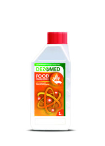 """Disinfectant """"DEZOMED"""" (for the food industry)"""