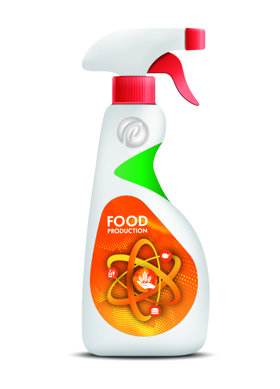 """Disinfectant """"DEZOMED"""" (for the food industry, trigger)"""