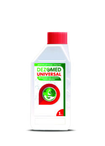 """Disinfectant """"DEZOMED"""" (universal use)"""